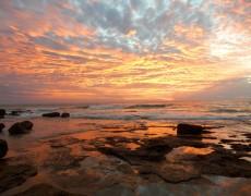 coucher de soleil broome australie cable beach