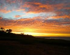 coucher de soleil cable beach broome australie