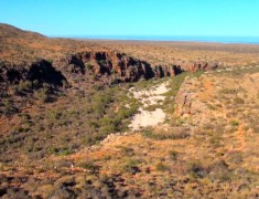 gorge mandu mandu exmouth cap range australie