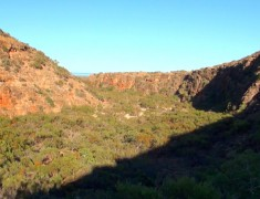 panorama gorge mandu mandu road trip australie