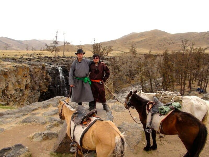 trek a cheval mongolie kharkhorin