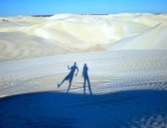 cote ouest australie dune sable blanc
