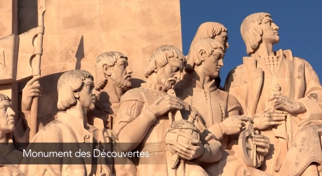 gros plan monuments des decouvertes visiter lisbonne