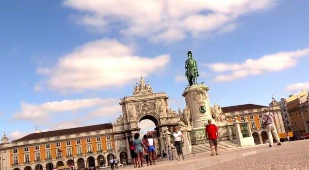 place historique lisbonne