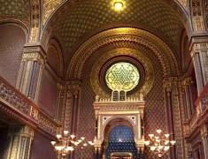 cynagogue espagnole visite de prague