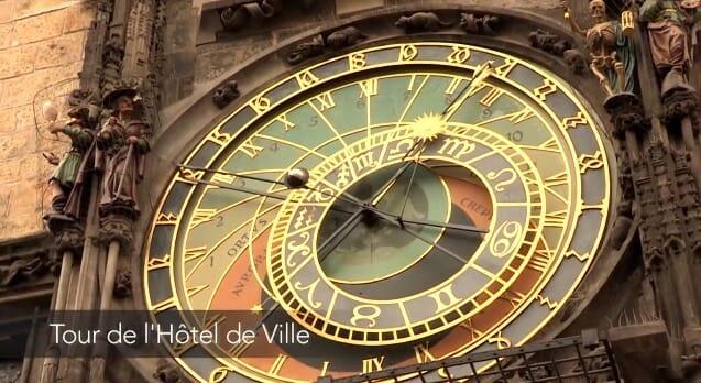horloge astronomique itinéraire pour visiter prague