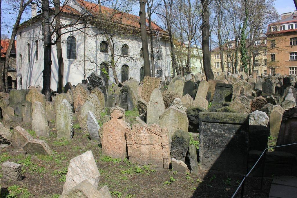 quartier juif cimetiere prague