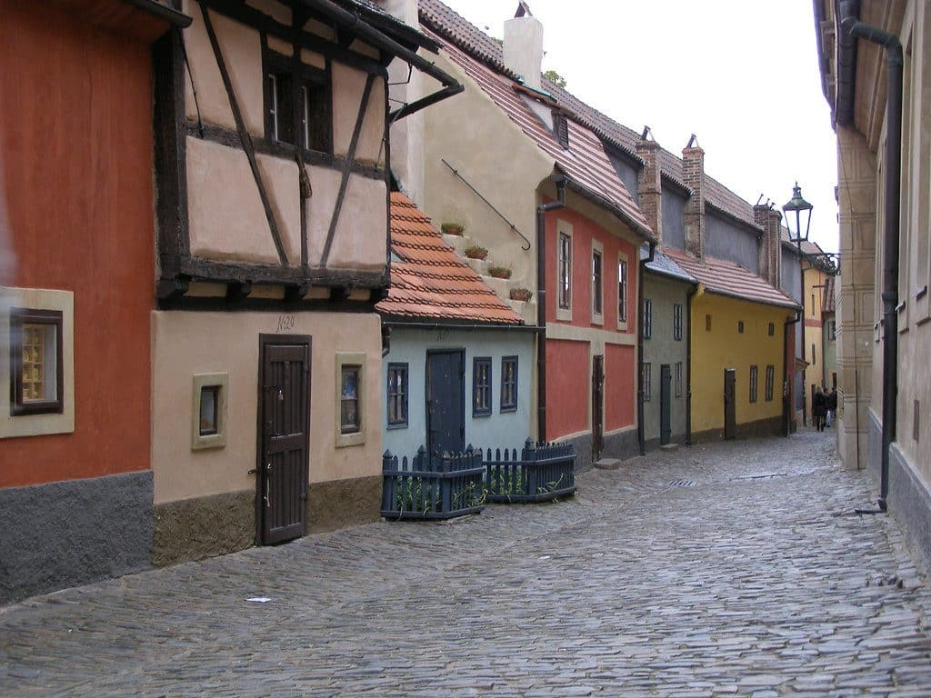 zlata ulica visiter prague