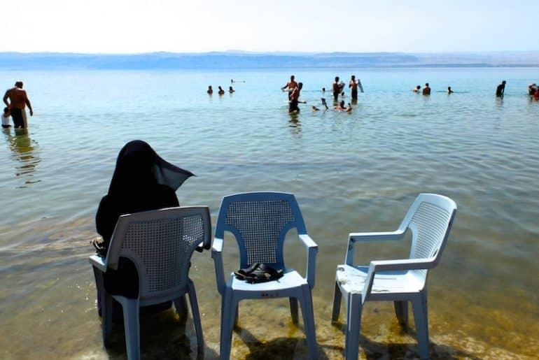 bain mer morte jordanie