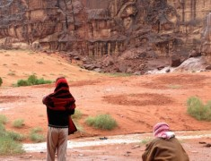 eau desert wadi rum