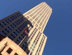 empire state building vue du bas