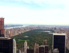 panorama central parc nyc