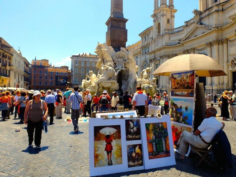 artistes piazza navona