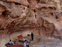 cave wadi rum