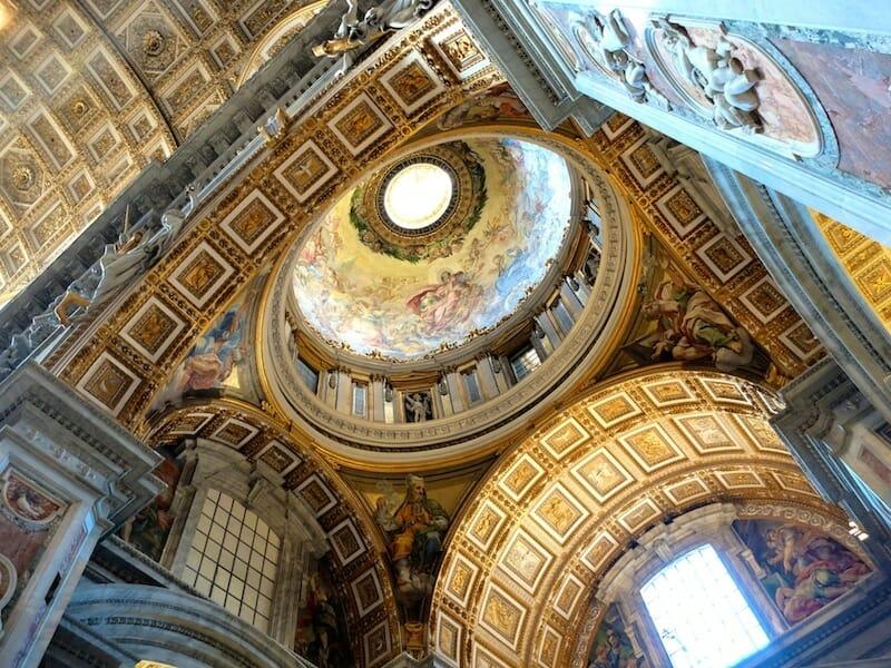 coupole basilique st pierre de rome vatican