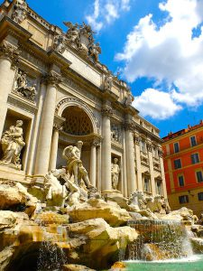 fontaine de trevi week end Rome