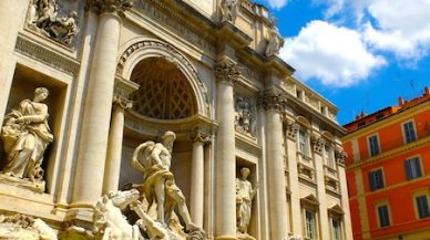 fontaine de trevi week end Rome