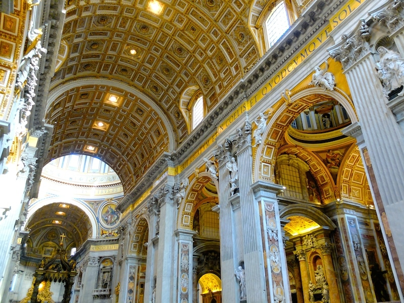 neuf basilique st pierre de rome vatican