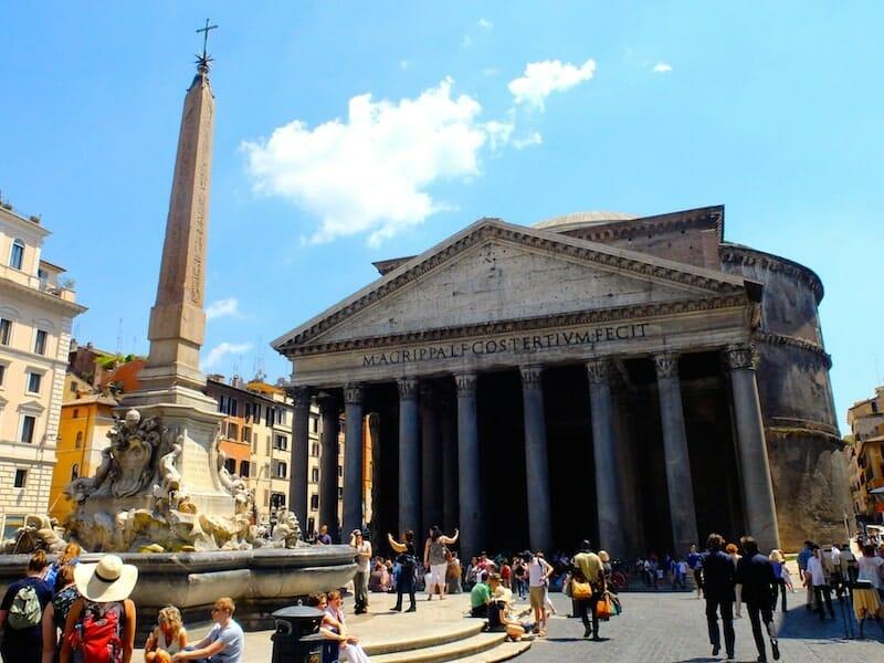 vue exterieur pantheon