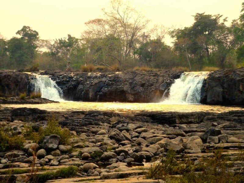 cascade crepuscule laos