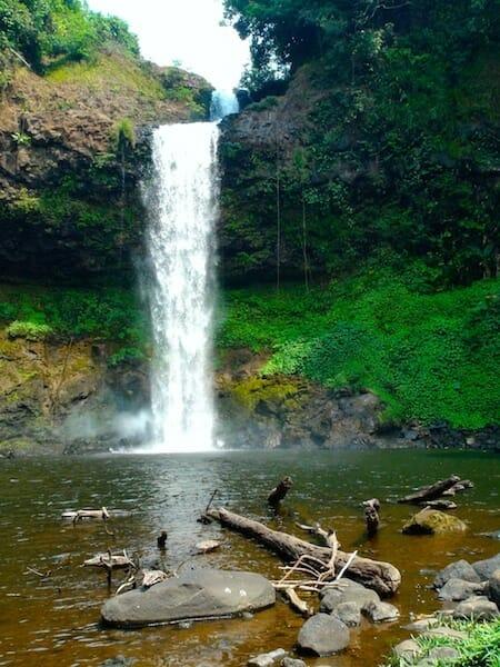 cascade plateau des bolovens