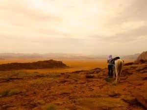 desert du wadi rum jordanie
