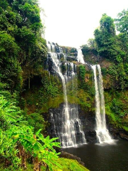 double cascade bolovens laos