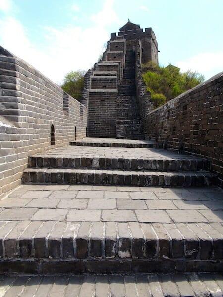 grande muraille de chine partie renovee