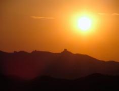 lever de soleil grande muraille 2 que faire en Chine
