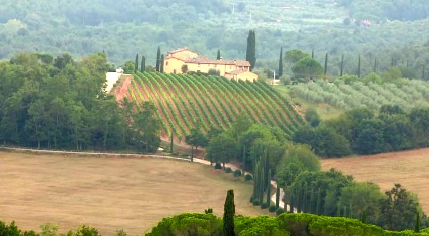 maison de campagne toscane