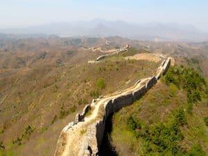 partie non renovee grande muraille