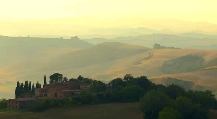 paysage arriere pays toscane