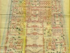carte type ancienne cite interdite pekin beijing