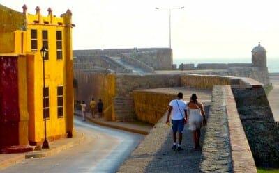 remparts de carthagene colombie