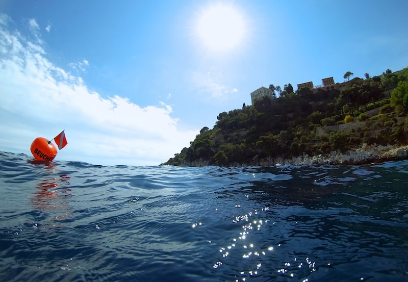 spot freediving villefranche sur mer