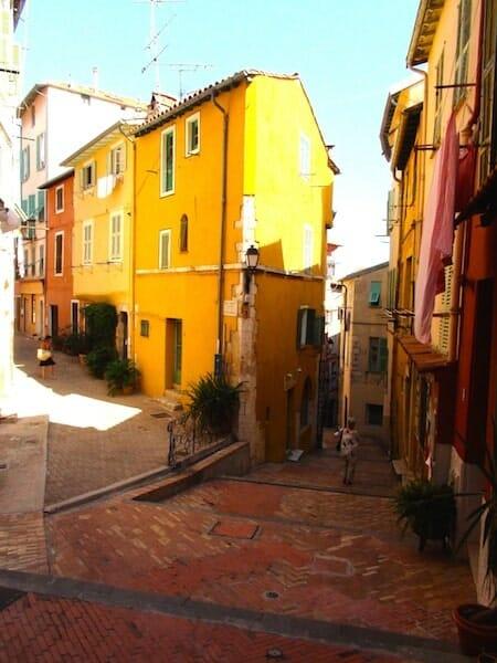 vieille ville villefranche sur mer
