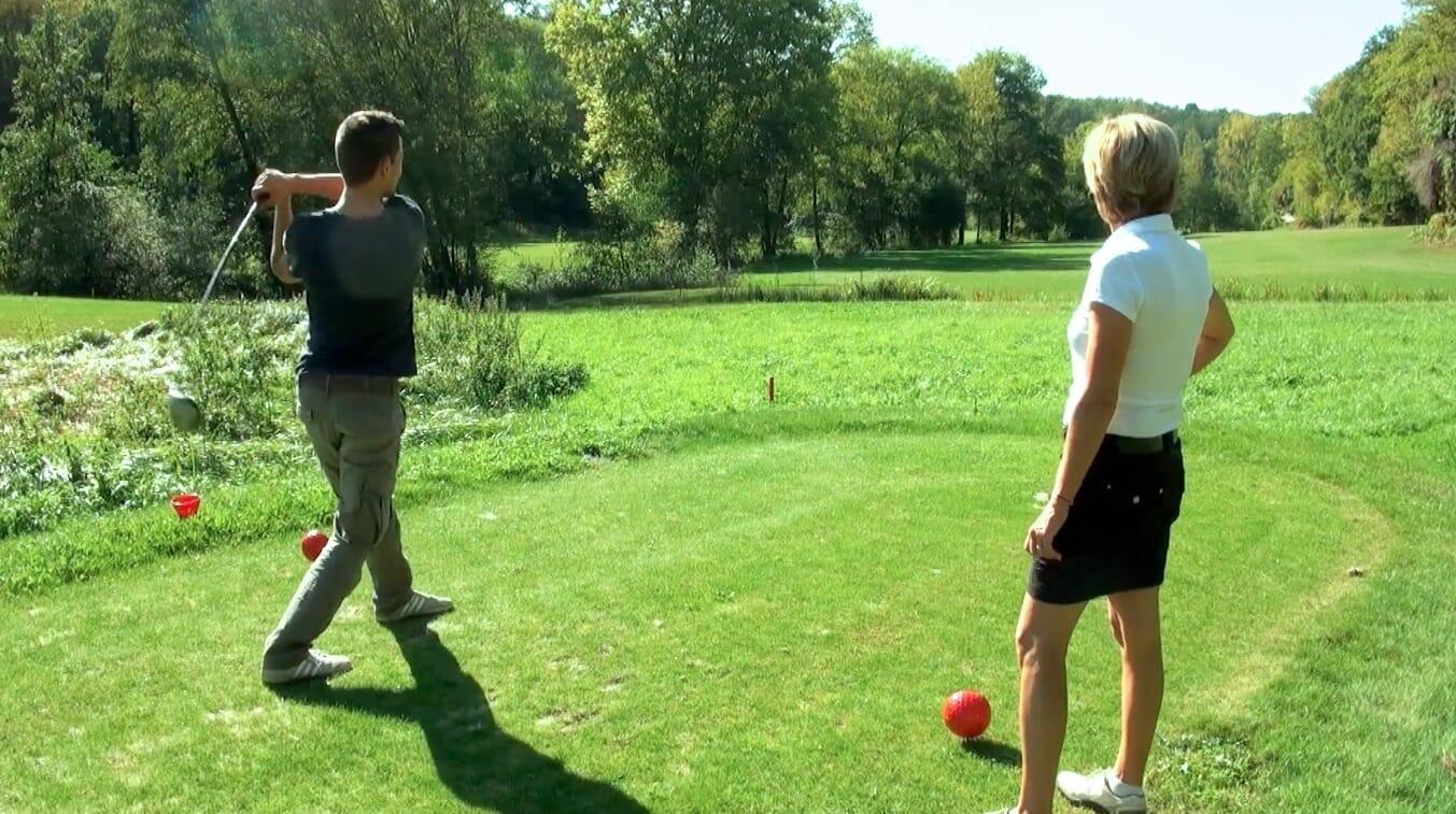 alex vizeo sport comme un gaillard golf