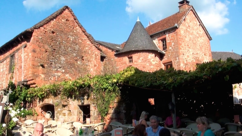 collonges la rouge maison