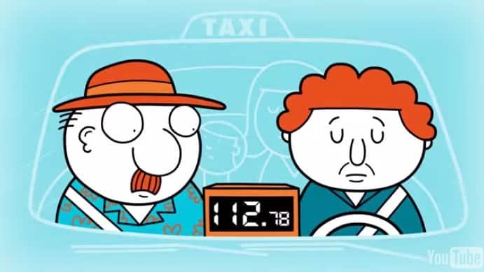 pas de frais de taxi