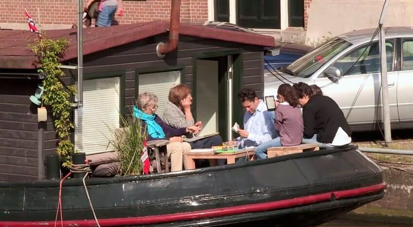 peniche maison amsterdam