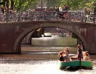 visite barque canaux amsterdam