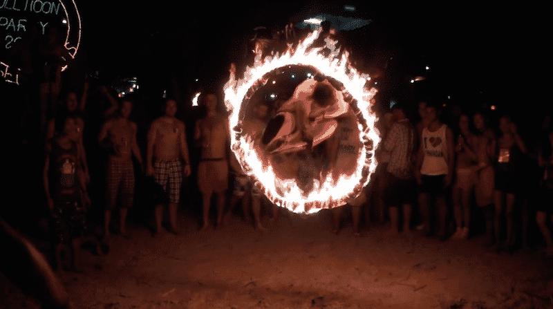 Full Moon Party - Thailande vizeo