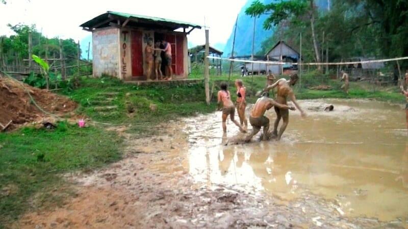 Vang Vieng - Laos dans la boue