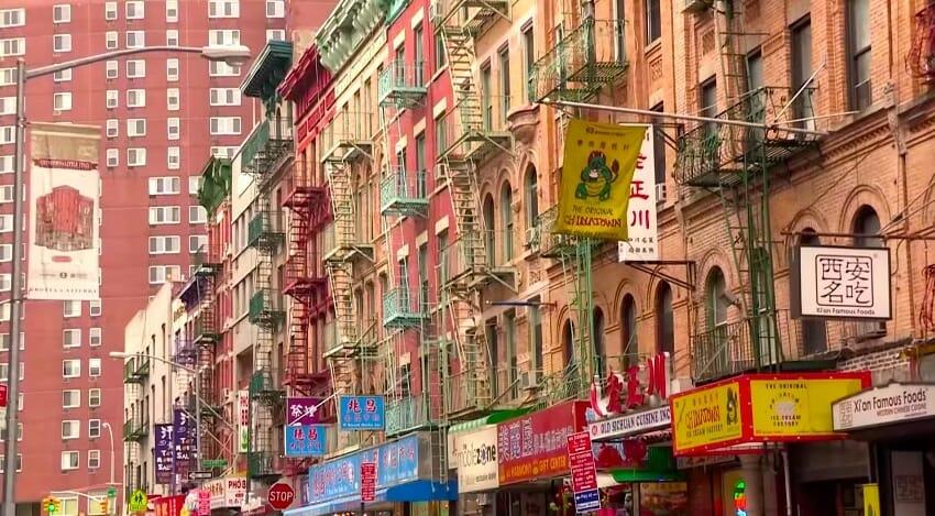 batiment chinatown nyc