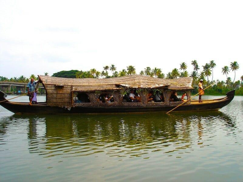 canaux du kerala inde du sud