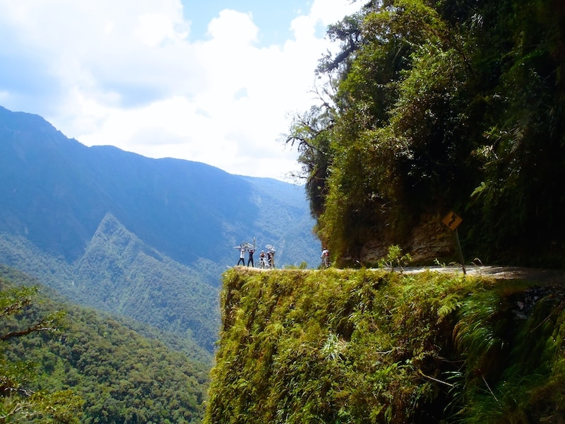 descente vtt route de la mort bolivie