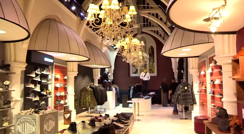 interieur limelight market nyc insolite