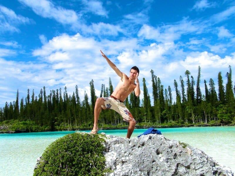 piscine naturelle lagon ile des pins nouvelle caledonie