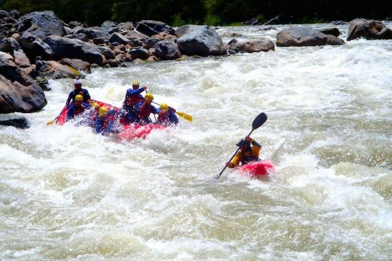 rafting perou