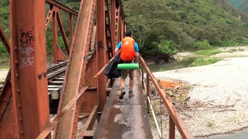 route d'Aguas Calientes - Pérou